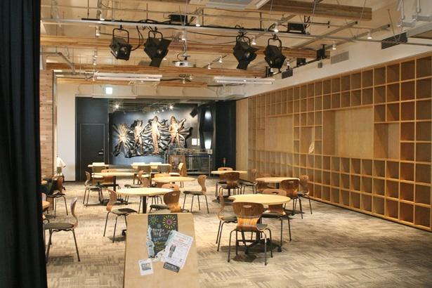「函館コミュニティプラザ Gスクエア」。フリーのWi-Fi設備も整えられている