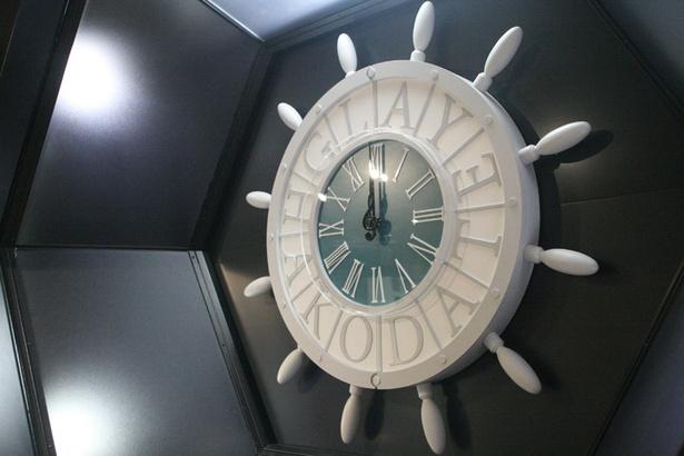 「Gスクエア」にあるからくり時計