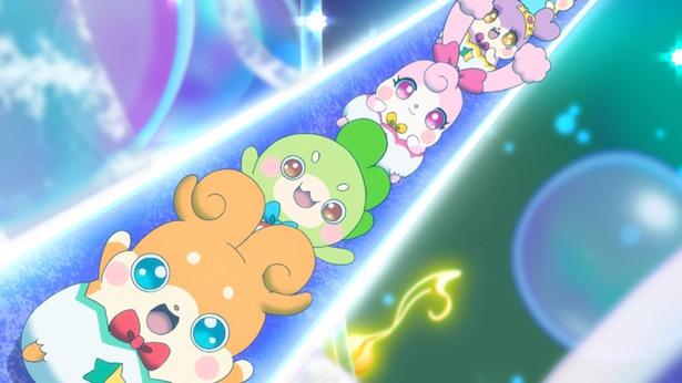 TVアニメ「かみさまみならい ヒミツのここたま」の、劇場版第1弾のDVDがリリース決定!