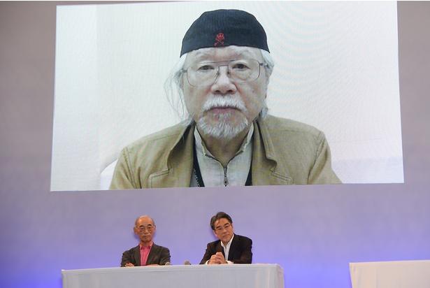 松本零士氏のビデオメッセージも紹介された