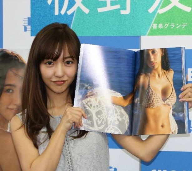 板野友美画像 in 3rd写真集「release」囲み会見 12/20