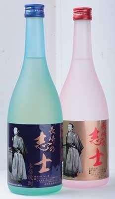 「龍馬伝」の放送を記念して造られた本格焼酎「長崎の志士」も発売中で、麦焼酎、芋焼酎(各グラス680円)ともに人気の一品(長崎出島厨房)