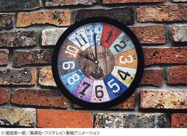 「ONE PIECE」の「壁掛け時計」(税抜3500円)が、9月から販売開始!
