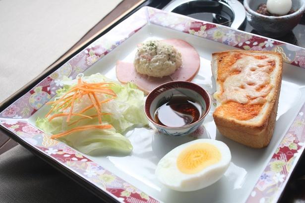 きんぎょ茶屋/ドリンク料金に100円をプラスすることで味わえる「モーニング」