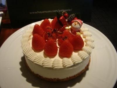 パティスリー葉山庵「クリスマス ショートケーキ」¥4301