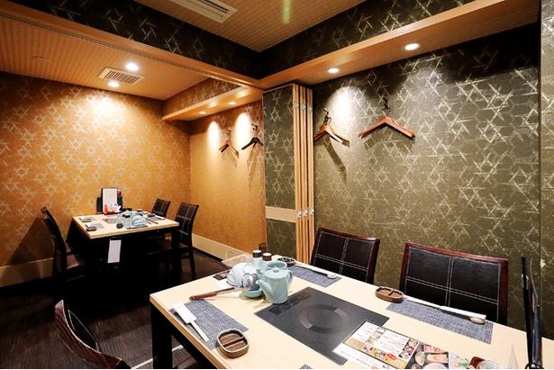 3階の椅子席のフロア。カジュアルな雰囲気で気軽に利用できる