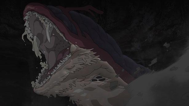 「メイドインアビス」第9話先行カットが到着。大断層にアビスの生物たち現る