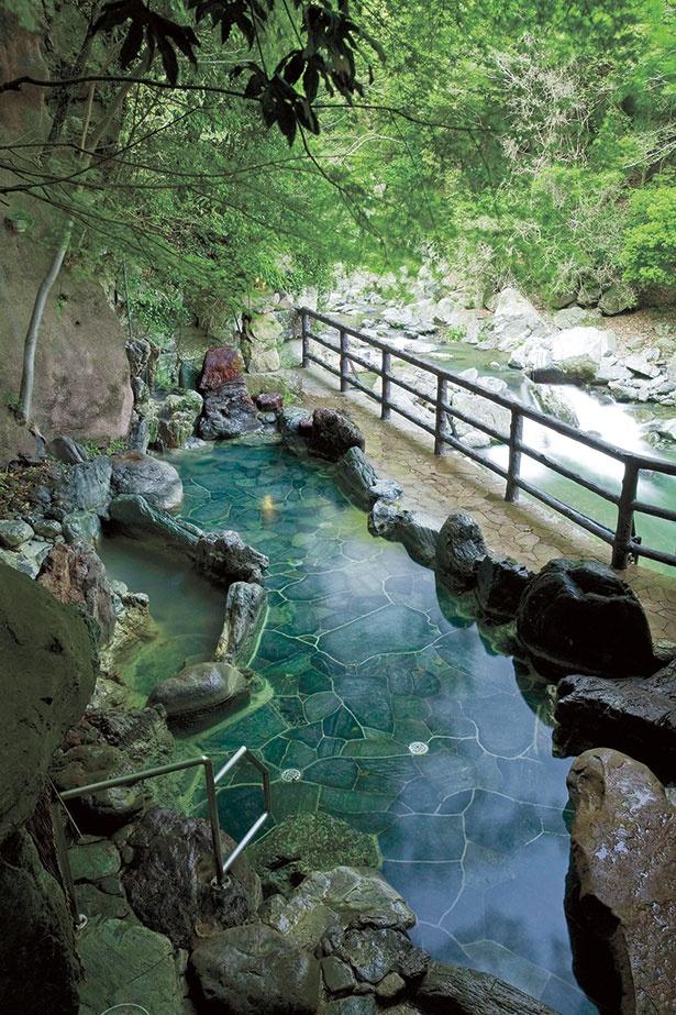 自然豊かな温泉料理旅館・山水館