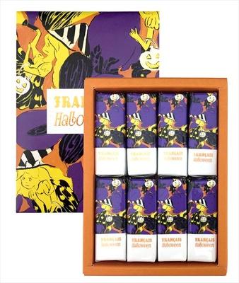 フランセより、期間限定で「ゴーストとたのしむミルフィユ」(4個入 648円、8個入 1296円、16個入 2160円)が発売