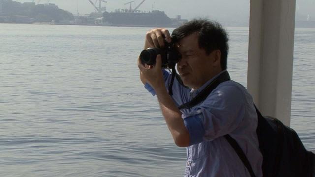 片渕監督は幾度となく呉に足を運び、風景や建物を写真に収めていった(「旅のはじまり~」より)