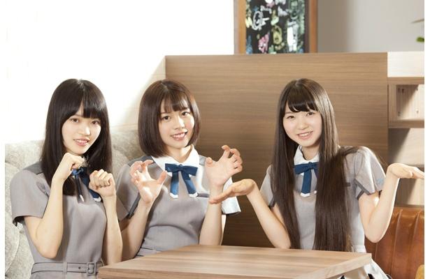 22/7メンバー短期連載第4回/涼花萌×高辻麗×武田愛奈