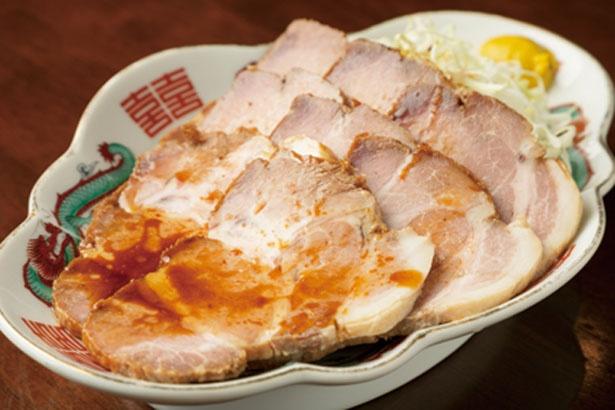 【写真を見る】「じっくり煮込んだやきぶた」(918円)/中華料理 清華園