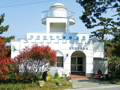 日間賀島資料館は観光案内所も併設している