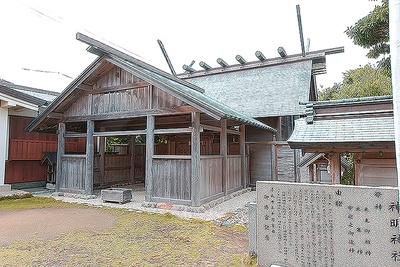伊勢神社と縁の深い「神明神社」
