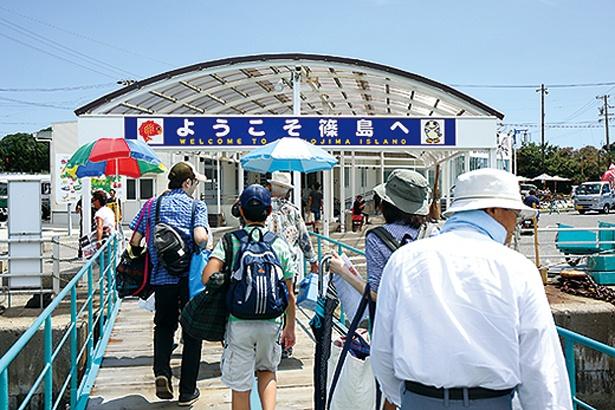篠島の高速船乗り場