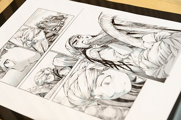 「乙嫁語り」初の原画展が開催された場所は…外務省!森薫氏による新連載もスタート