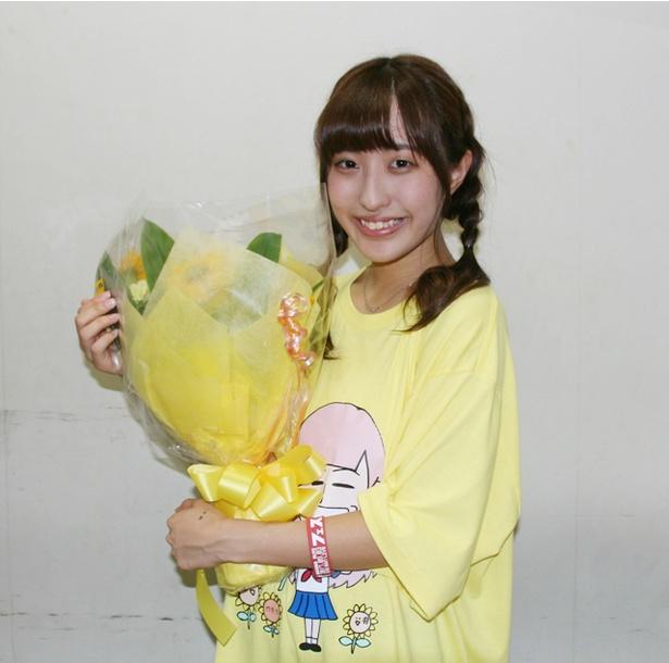 FES☆TIVEのリーダー・れいあん(汐咲玲亜)が18歳の誕生日を迎え、「汐咲玲亜生誕祭2017-きいろまつり-」を開催した