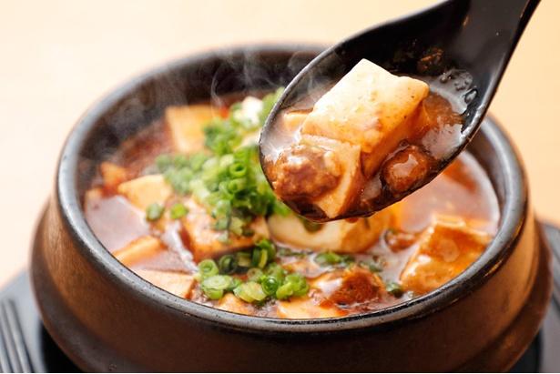 熱っ!辛っ!旨っ!本場仕込みの四川麻婆豆腐も大人気
