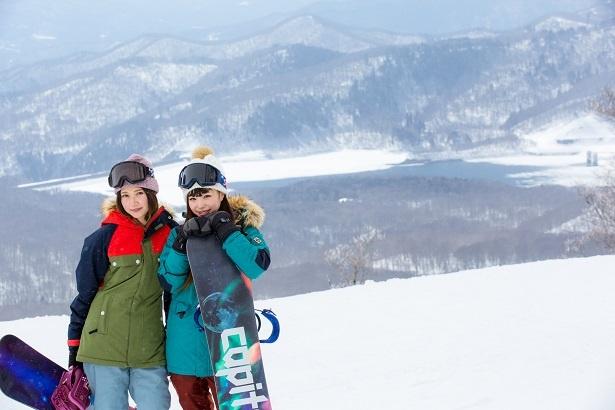 多様なレイアウトのコース が人気のたんばらスキーパーク