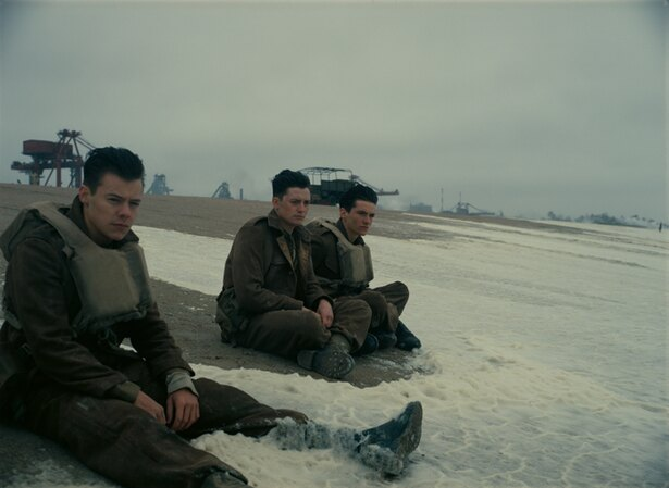 クリストファー・ノーラン監督の『ダンケルク』は1位に初登場