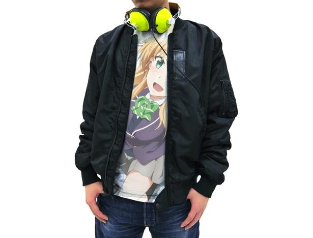 TVアニメ「ゲーマーズ!」より天道花憐をイメージしたアパレルグッズが登場