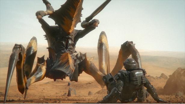 """火星に大量発生した昆虫型生命体""""バグ""""が人類に襲いかかる"""