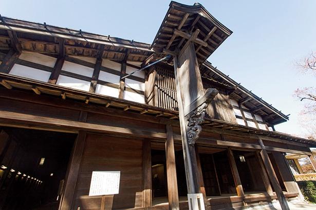 17世紀ごろに建てられた「旧生方家住宅」