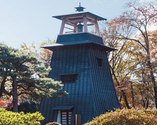 沼田城址のシンボル・鐘楼