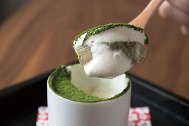ビスケット、白あんなどが最下層に/OTYOBO by ENGAWA cafe