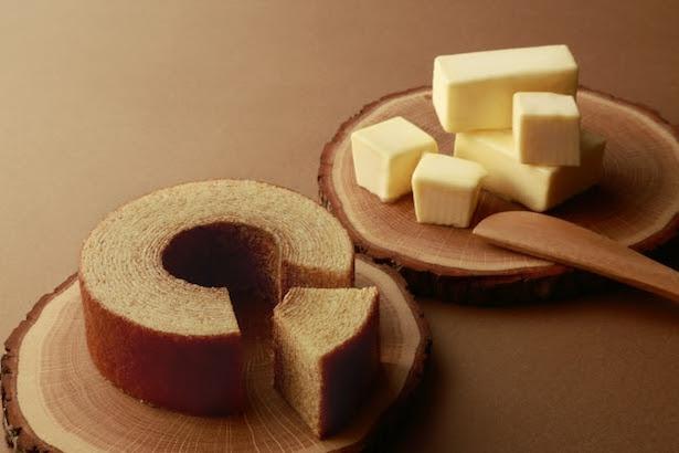 """""""三度感じる""""最高品質のバターを100%使用した「なまらバターバウム」新発売"""