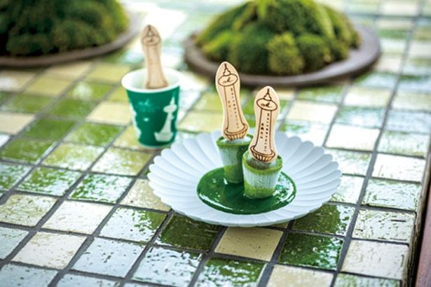 「生茶の菓アイスバー」(1個250円)/京都タワーサンド