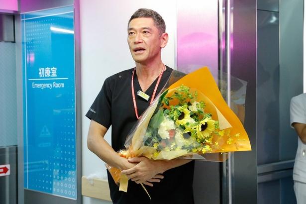 9月18日に最終回を迎える「コード・ブルー」で杉本哲太、滝藤賢一らがクランクアップを迎えた
