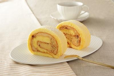 「3種のナッツのロールケーキ」(280円)