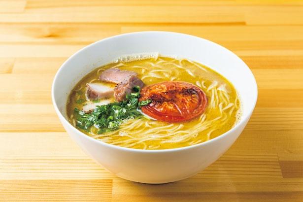 【写真を見る】「SMISOらぁ麺(細麺)」(800円・限定)/らぁ麺屋 はりねずみ