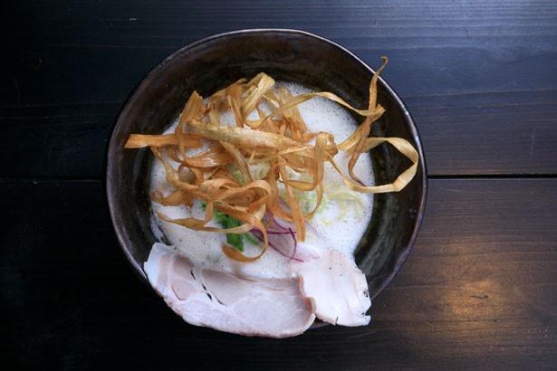 「鶏soba<並>」(850円)/鶏soba座銀 住之江店