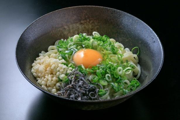 「かまたま麺(150g)」(500円)/麺や 銀ぺい