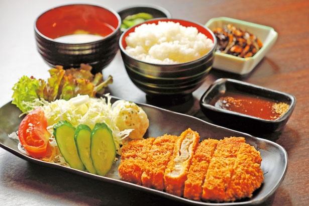 「大和ロースカツ定食」(1520円)/健康からだ食堂