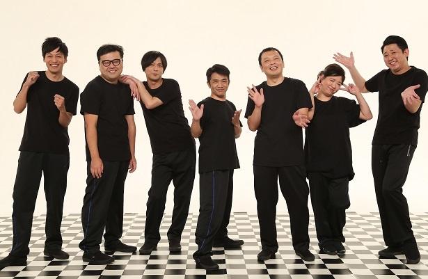 中川家、とろサーモン、次長課長・井上聡らがコントを披露!