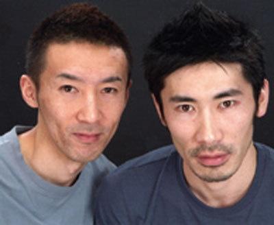 チョップリン(右)西野恭之介、(左)小林幸太郎