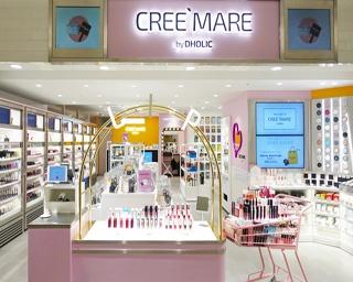 通販サイト「DHOLIC」から韓国コスメショップ「CREE`MARE by DHOLIC」がオープン