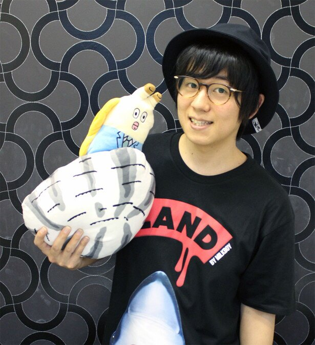「ZIP!」内で放送中のショートアニメ「朝だよ!貝社員」に山下大輝が参加