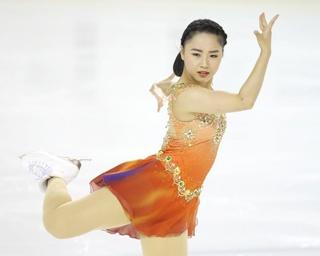 樋口新葉、東京夏季フィギュアでのショートプログラムの演技