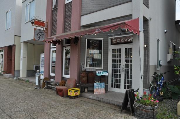 本別町の商店街ストリートに面した、小ぢんまりとしたつくりの店