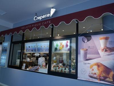 「ジェラート ピケ」プロデュースの「gelato pique cafe creperie(ジェラート ピケ カフェ クレープリー)」