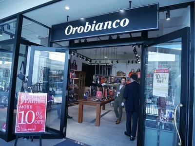 日本初出店ショップの「orobianco(オロビアンコ)」