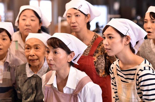 「陸王」の追加キャストが発表され、阿川佐和子演じるあけみが仕切る「こはぜ屋」縫製課の顔ぶれが決まった
