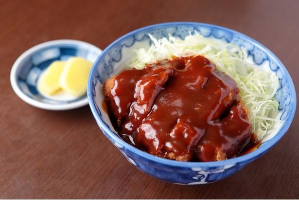 「タレかつ丼(並)」はかつて、土岐市駅前にあったレストランのメニューをヒントに作り上げた