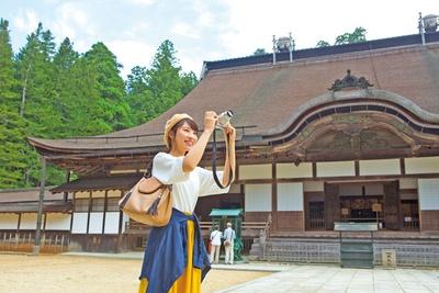 亡母の菩提を弔うために豊臣秀吉が創建した青巌寺であった主殿/総本山 金剛峰寺