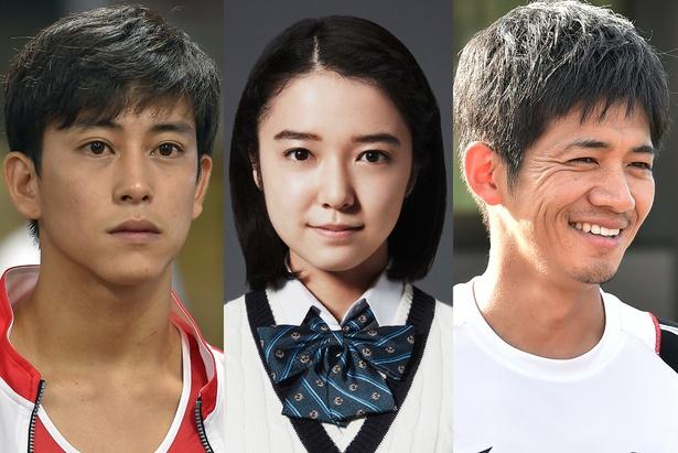 追加キャストに決まった佐野岳、上白石萌音、和田正人(左から)