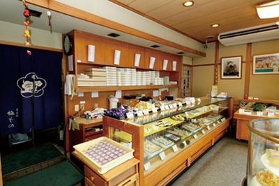 季節によって商品が変わるので、秋の味覚が堪能できる/菓匠苑 梅ぞの 橿原店